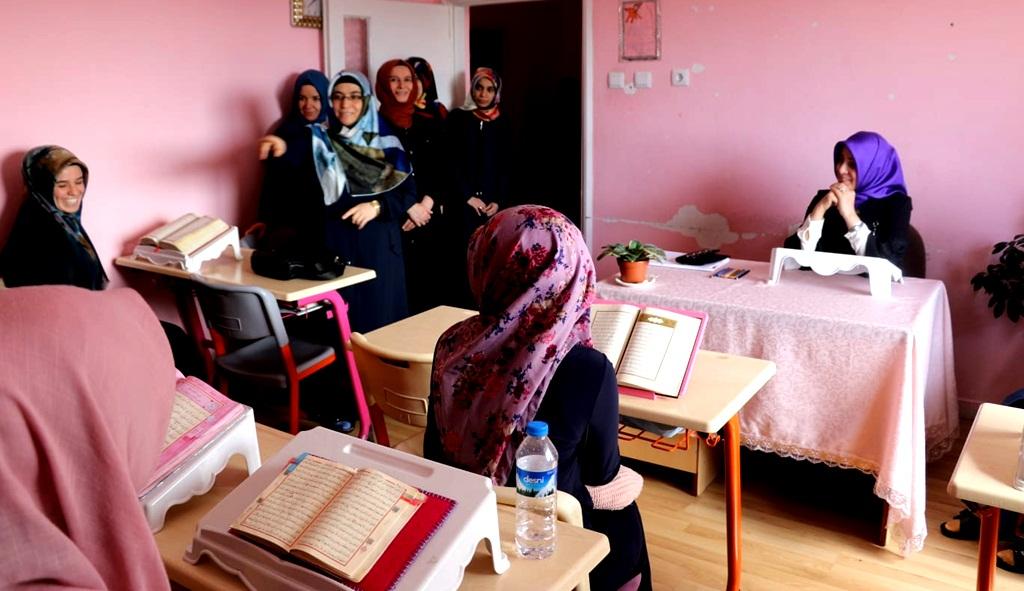 Kur'an Kurslarında Yüz Yüze Eğitim Başlıyor