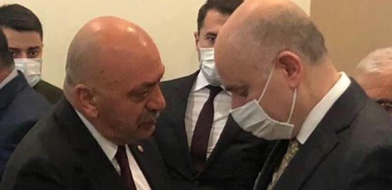 İsbir, Bakana Ortaköy'ün Taleplerini İletti