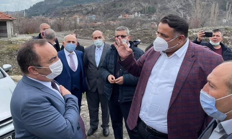Kaya, İskilip'te Yapılacak Yatırımları İnceledi