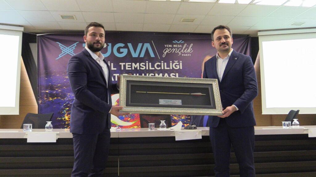 TÜGVA Genel Başkanı Enes Eminoğlu Çorum'da