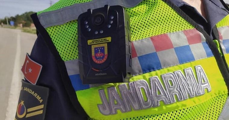 Jandarma Yaka Kamerası Kullanıyor