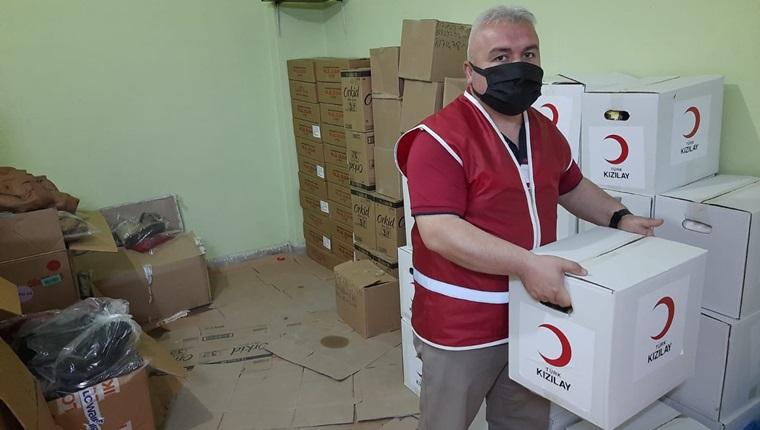 Kızılay Mecitözü İlçe Temsilciliği İhtiyaç Sahibi Vatandaşlara Ulaşıyor