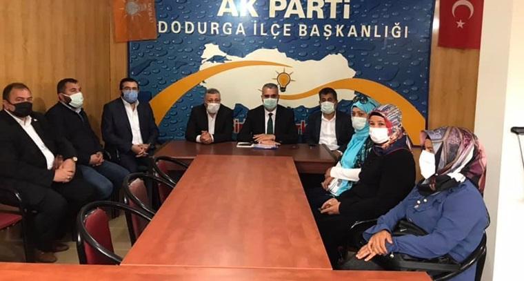 AK Parti Çorum İl Başkanlığından İlçe Teşkilatlarına Ziyaret