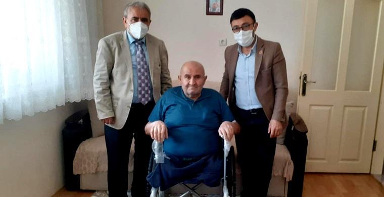 Bektaş, Tekerlekli Sandalye Sözünü Tuttu