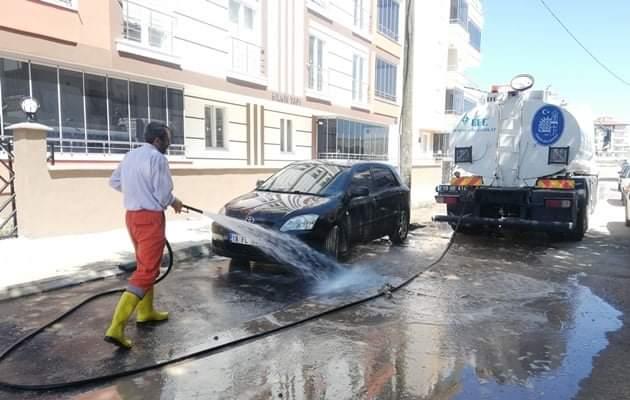Belediye'den Sel Sonrası Temizlik