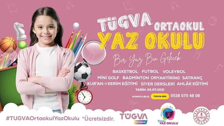 TÜGVA'dan, Gençler İçin Yaz Okulu