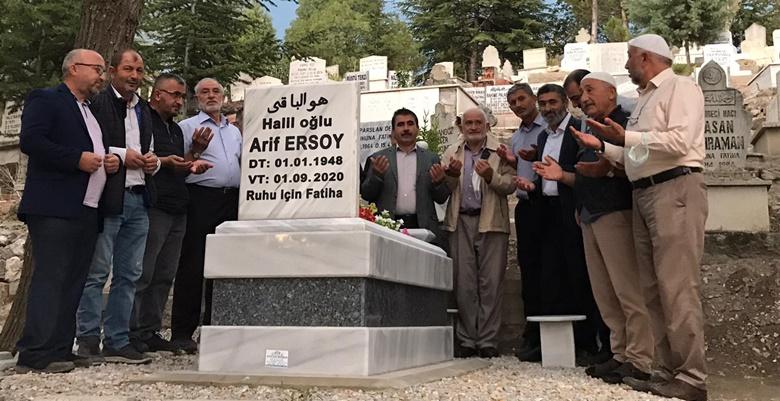 Saadet Partisi, Ersoy'u Mezarı Başında Andı