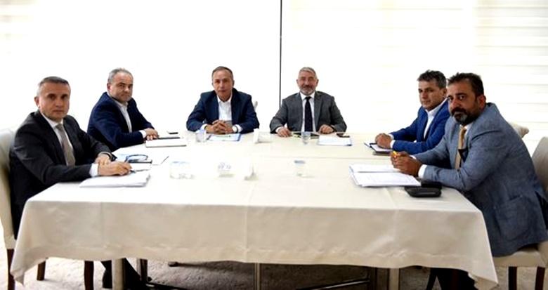 Ceylan, Belediye Yönetimi İle İstişare Yaptı
