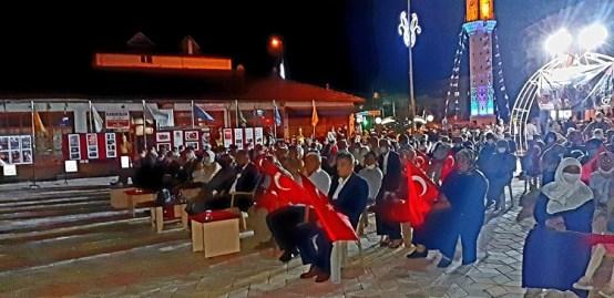 ORTAKÖY'DE DEMOKRASİ GÜNÜ PROGRAMI