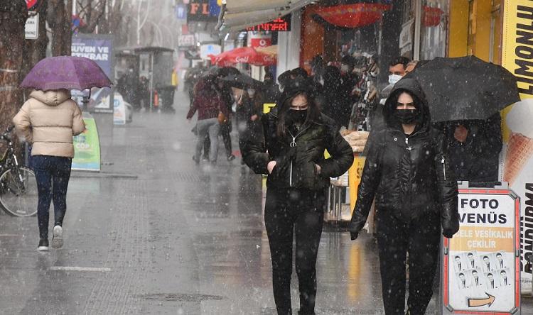 Çorum'a soğuk ve yağış uyarısı!