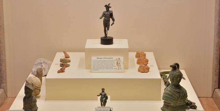 Hermes heykelciği Çorum müzesinde