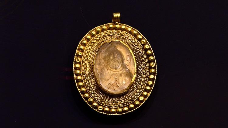 İsa madalyonu Çorum müzesinde