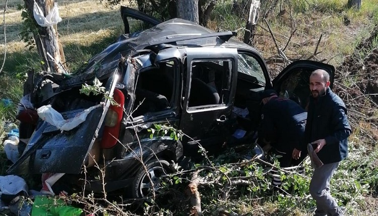 Üzücü kazada 7 kişi yaralandı