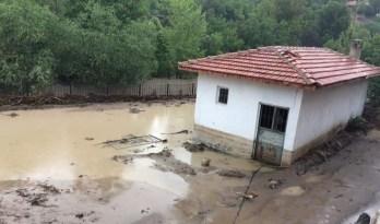 Şiddetli sağanak yağış etkili oldu