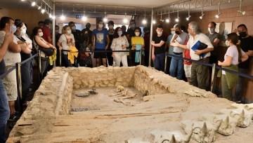 Proje öğrencileri Çorum müzesinde