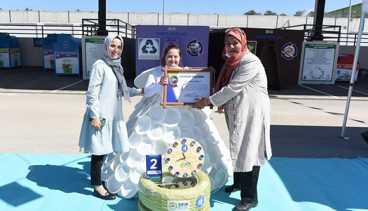 Çevre yarışmasında ödüller verildi