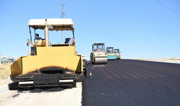 Bu bölgenin asfaltı tamamlandı