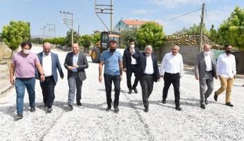 Alaca Belediyesine asfalt desteği