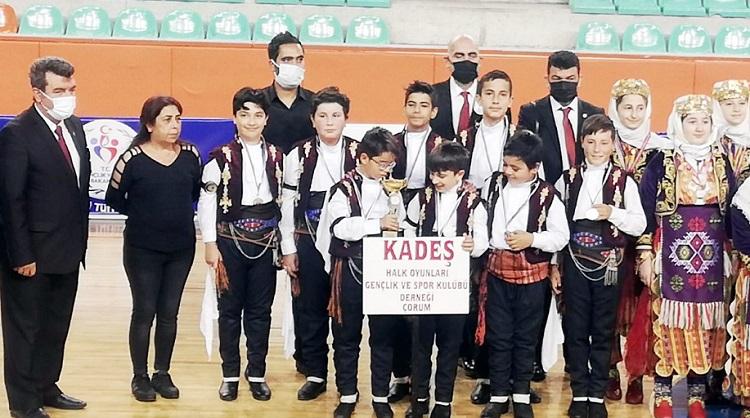 KADEŞ'in çocukları şampiyon oldu