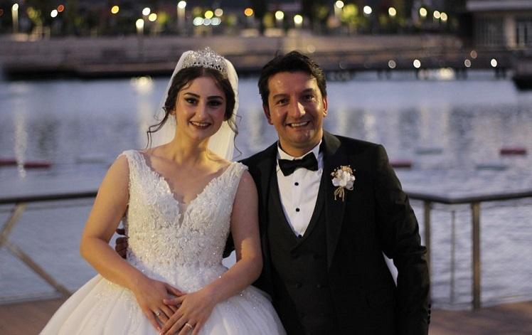 Hilal Sinem ile Kemal Burhan evlendi