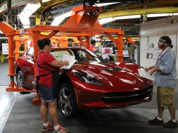 Bowling Green Corvette Assembly Plant Workers Authorize a Strike