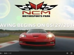 Video:  National Corvette Museum Motorsports Park Currently Being Paved