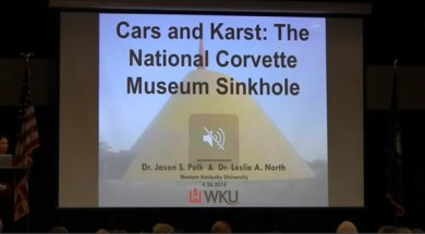 Cars and Karst: The National Corvette Museum Sinkhole WKU presentation