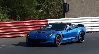 Video:  2015 Corvette C7 Z06 Sound on the Nordschleife