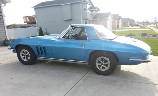 1965 Corvette Stolen from Usk, Washington