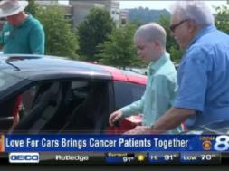Cancer survivors from different generations bond over love for Corvettes