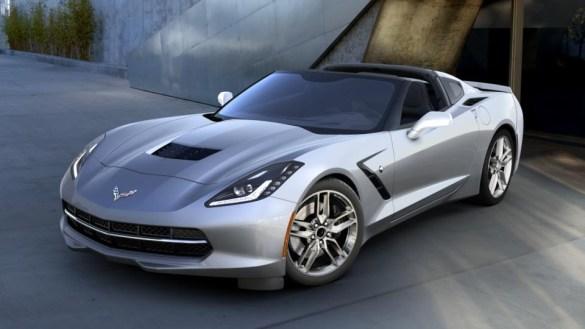 2016 Corvette in Blade Silver Metallic