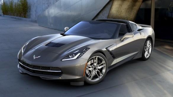 2016 Corvette in Shark Gray Metallic