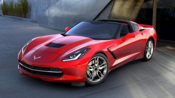 2016 Corvette in Torch Red