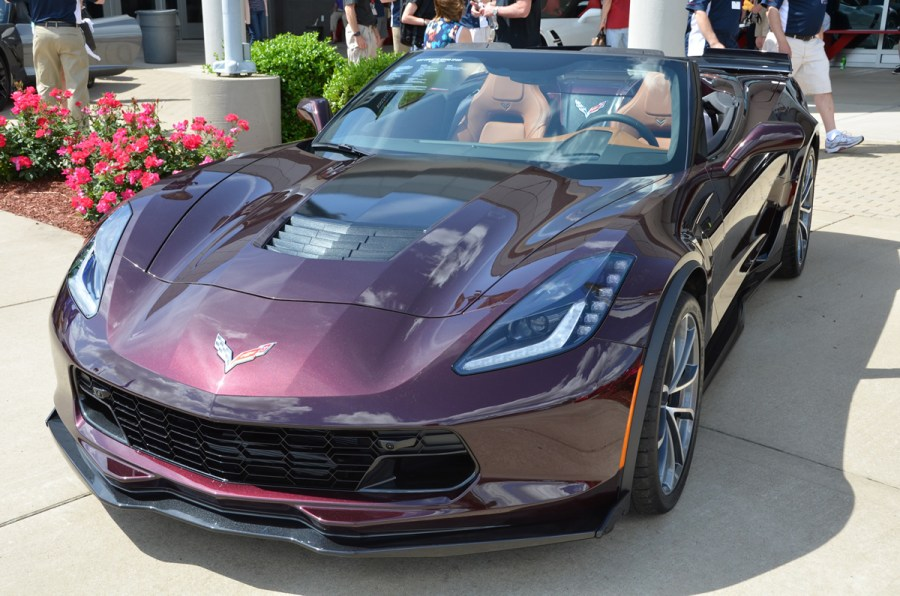 2017 Corvette Grand Sport in Black Rose Metallic