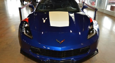 2017 Corvette Grand Sport Z15 Heritage Package in Admiral Blue Metallic