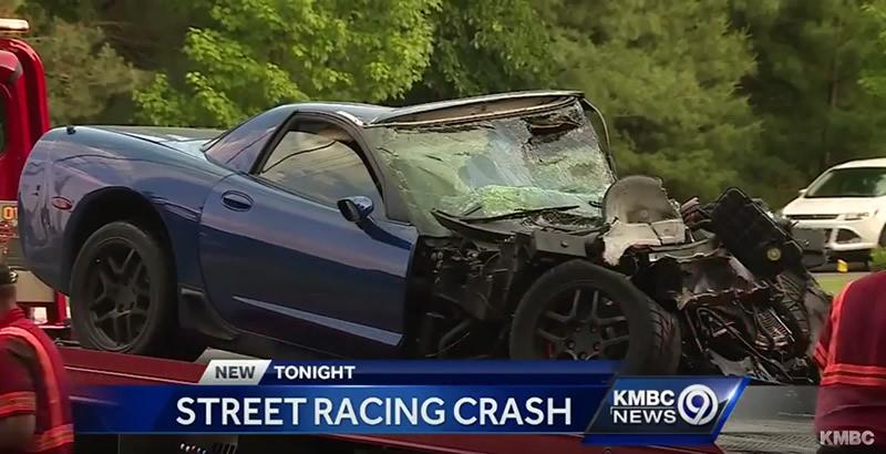 C5 Corvette Z06 Involved In Street Racing Blamed In Fiery