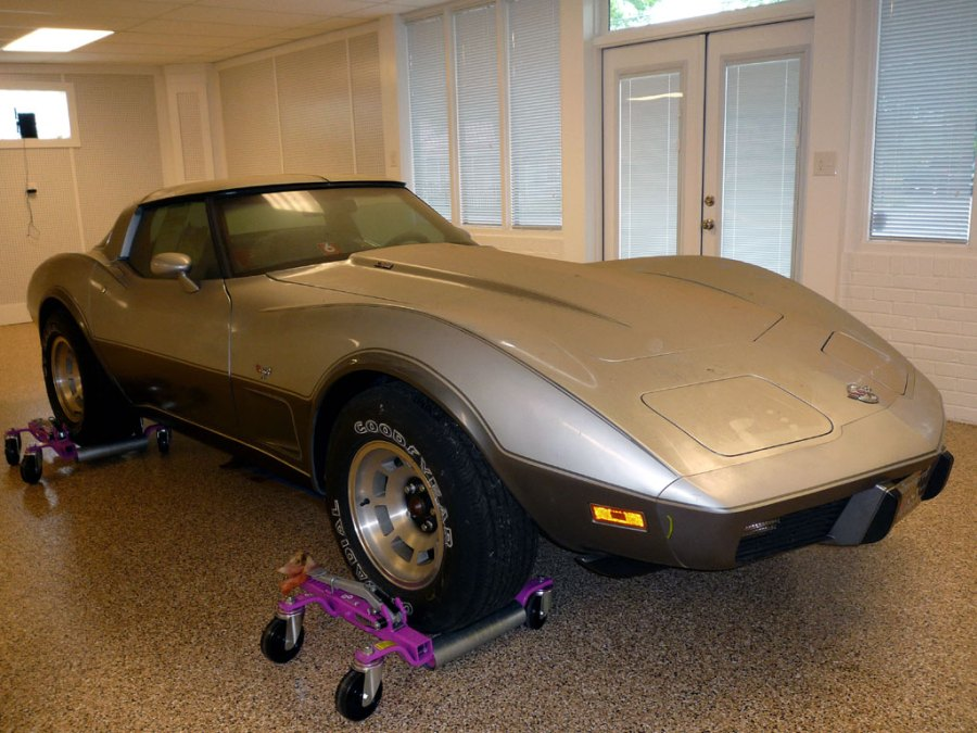 EBAY Find - 1978 Silver Anniversary Corvette with only 4.1 Miles!