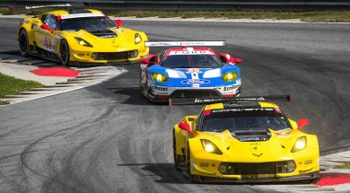 Oliver Gavin and Tommy Milner led a 1-2 class finish for Corvette Racing on Saturday with a GT Le Mans (GTLM) victory in the Northeast Grand Prix at Lime Rock Park.