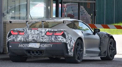 2018 Corvette ZR1 Shows Off Massive Rear Wing
