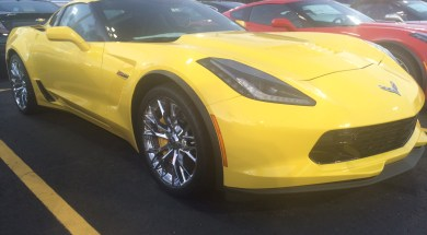 New Body-Colored Vents are now Optional on the 2017 Corvette