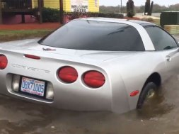 Hurricane Matthew Claims the Life of a C5 Corvette
