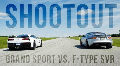 [VIDEO] 2017 C7 Corvette Grand Sport Goes Up Against the Jaguar F-Type SVR