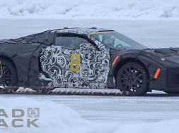 [SPY PHOTOS] Mid-Engined Corvette Caught Winter Testing with ZR1 Prototypes