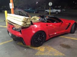 "C7 Z06 Corvette Owner Goes a Little ""Overboard""!"