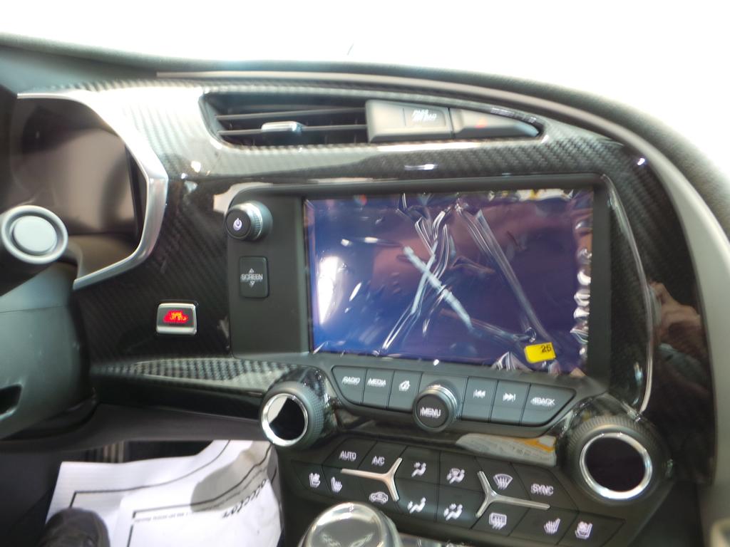 2018 Carbon 65 Edition Corvette Interior