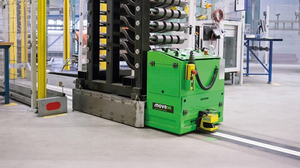 Automated Guided Carrier