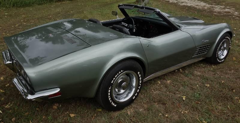 1971 Corvette ZR1 Convertible - 1 of 1