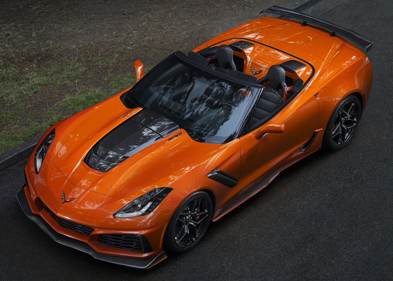 2019 Corvette ZR1 Coupe and Convertible Officially Unveiled at LA Auto Show at $119,995 ...