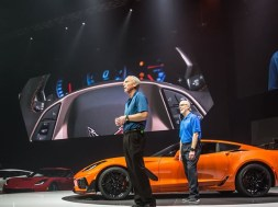 Corvette Chief Engineer, Tadge Juechter Introduces the 2019 Corvette ZR1 in Dubai