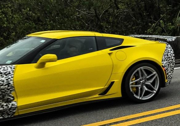 2019 Corvette ZR1 Prototype - Florida Everglades